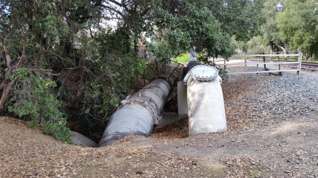 Water Pipe on UP Trail 1